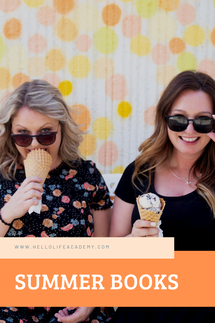 Top summer marketing books for women entrepreneurs. Photo: Ice cream in Palm Springs.