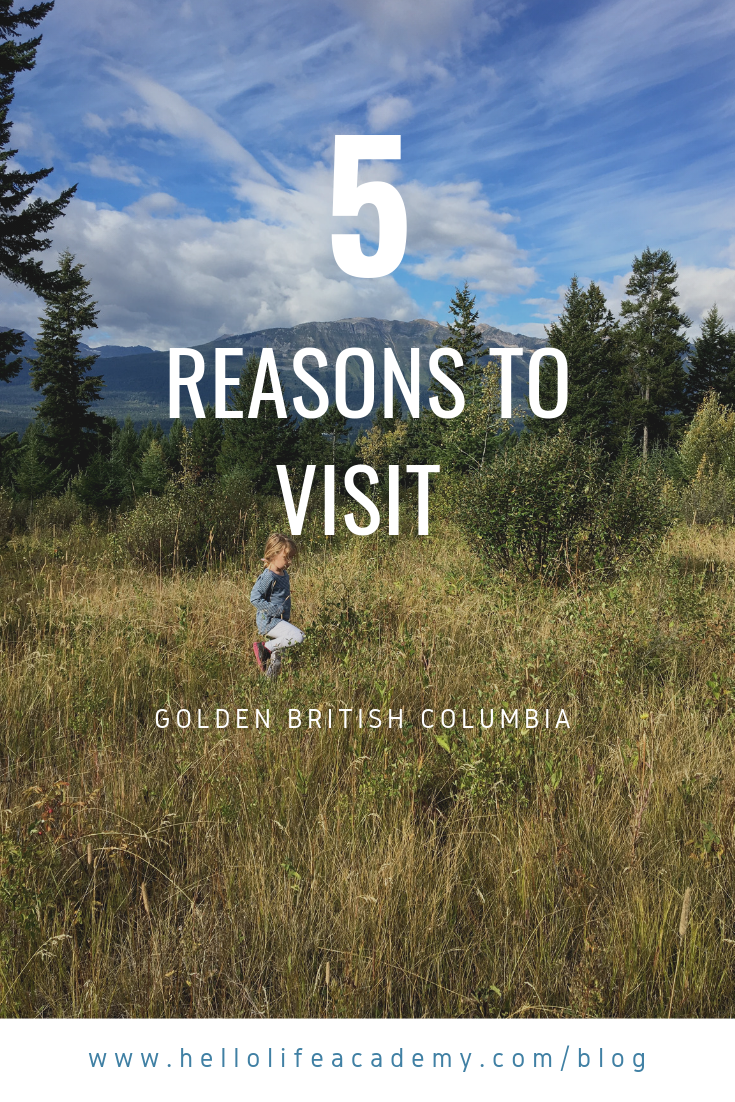 Visit Golden British Columbia